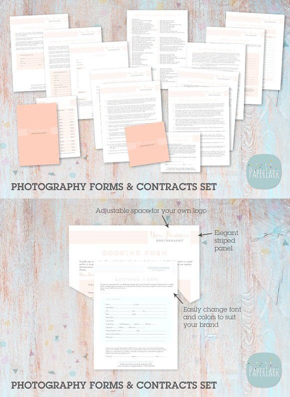 Ng Photography Contracts  Forms  Photography Stationery