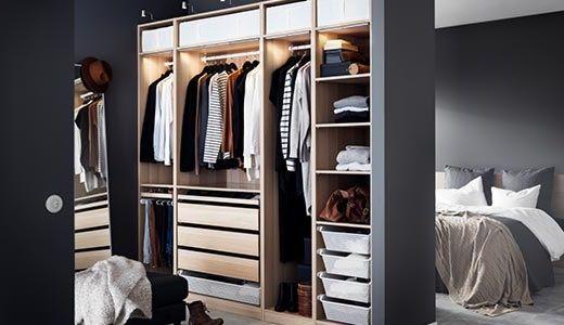 Großzügig Ikea Kleiderschrank Beleuchtung Fotos   Die Besten . Design Inspirations