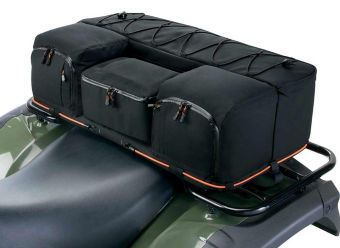 Motorcycle Luggage Rack Bag Endearing Quadgear Extreme Atv Rear Rack Bag & Cooler This Rugged Atv Cargo Inspiration