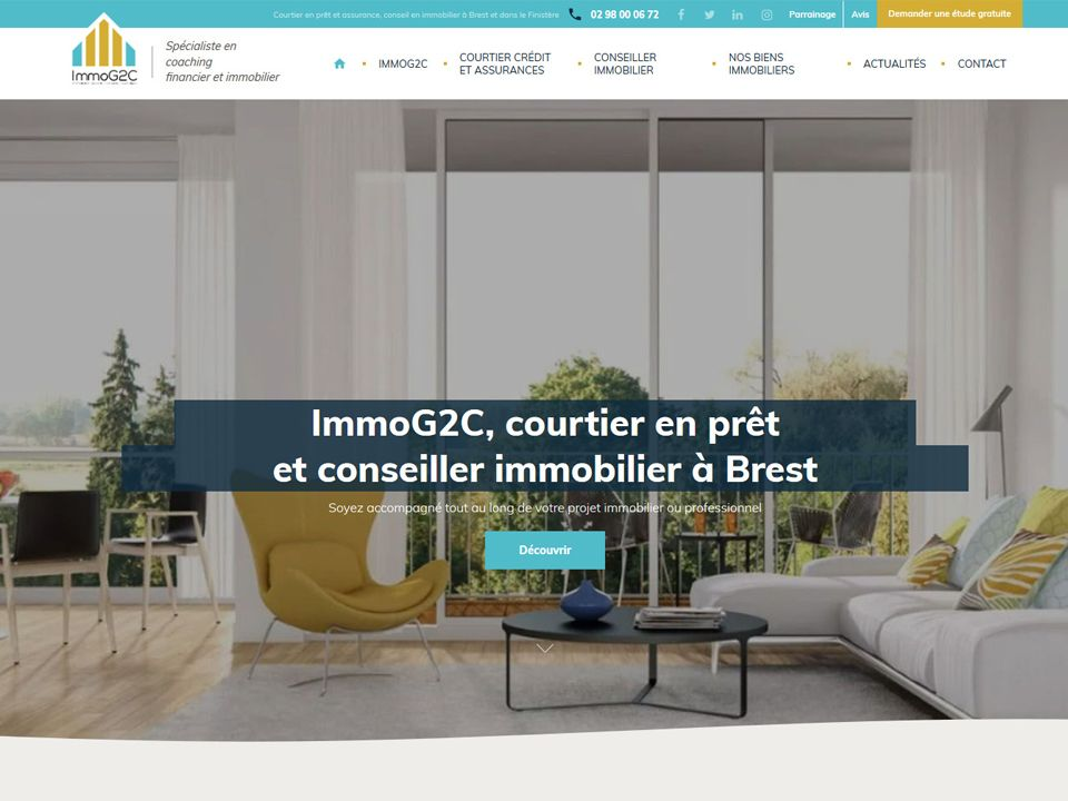 Immog2c Projet Immobilier Immobilier Courtier