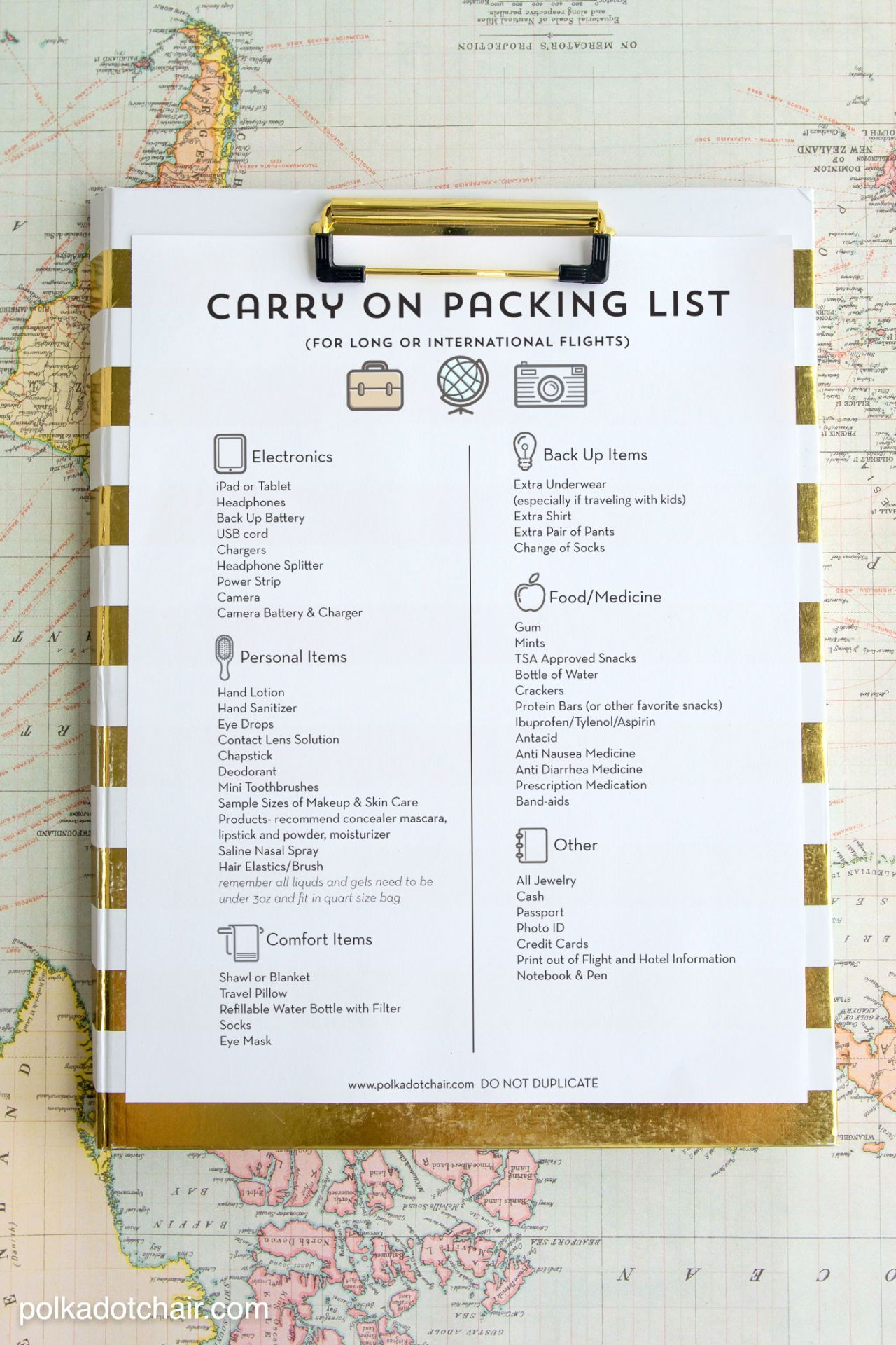 This Genius Packing List Helps You Travel With Essentials Only Goodhousekeeping Com Packing Tips For Travel Printable Packing List Traveling By Yourself