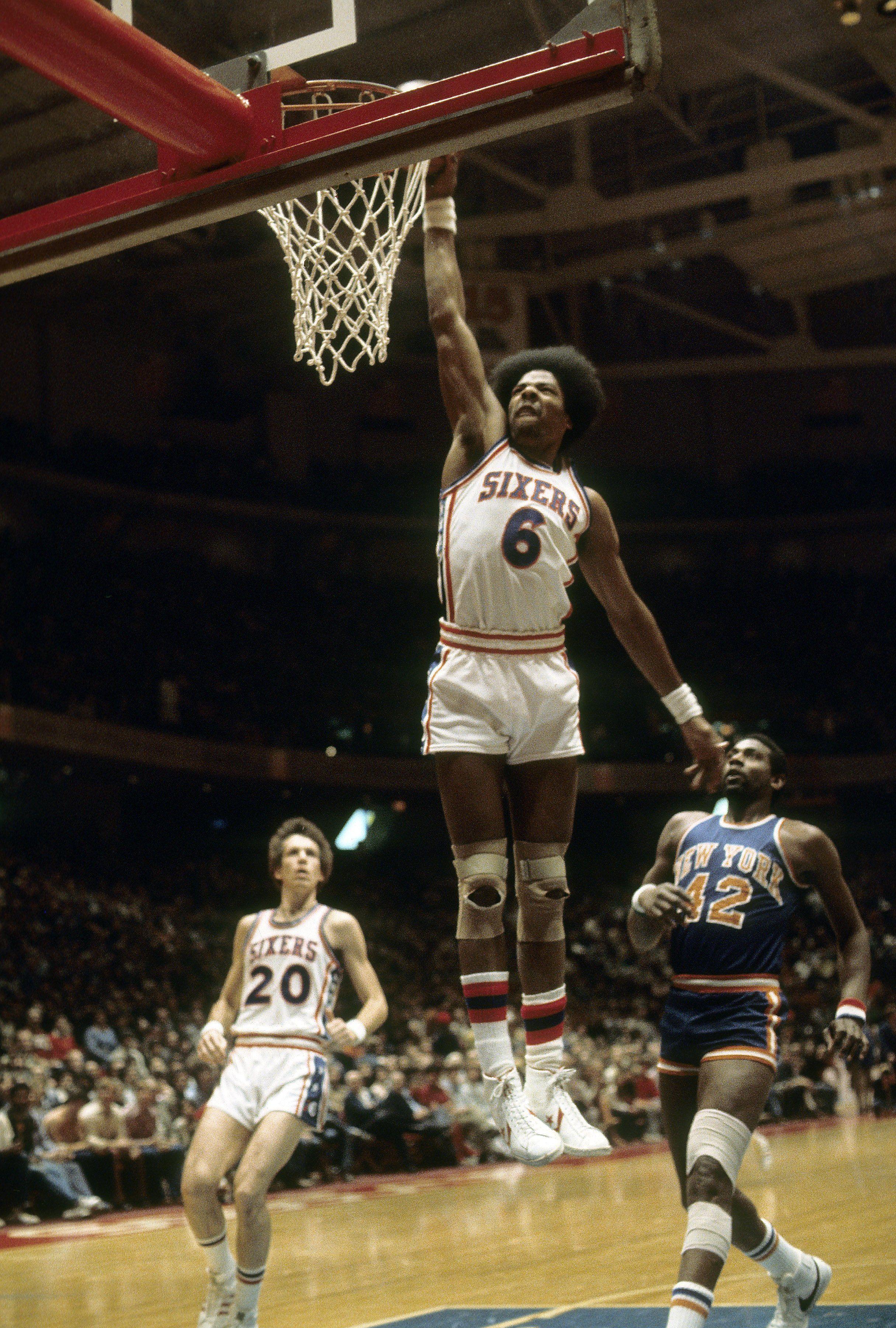 Old school NBA Dr J Basketball Humor Pinterest