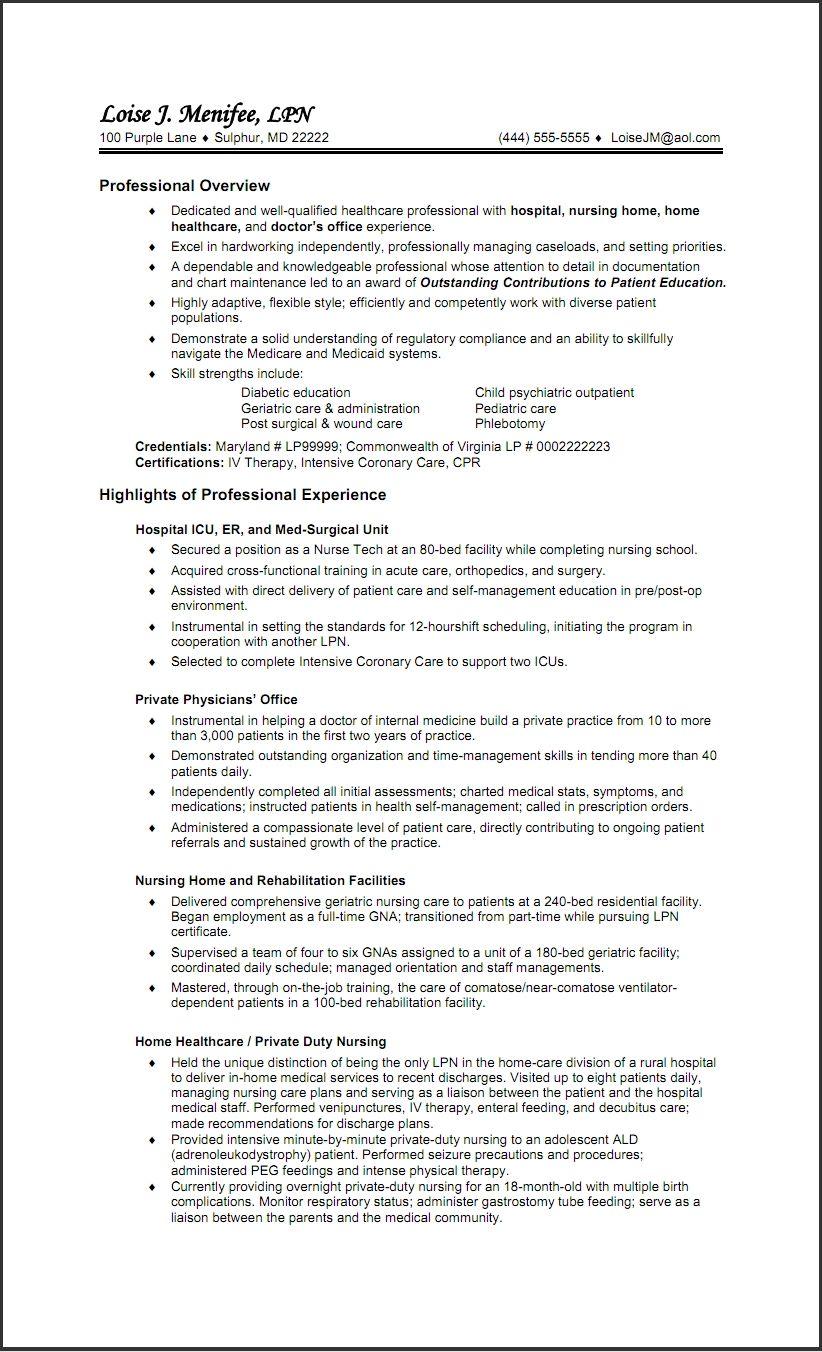 Free Resume Templates For Lpn Nurses Freeresumetemplates Nurses Resume Templates Nursing Resume Template Nursing Resume Examples Lpn Resume