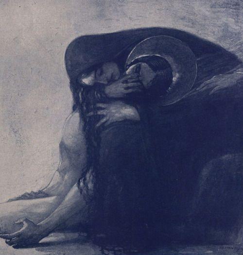 Sergius Hruby.Die Trostende Hand. 1930