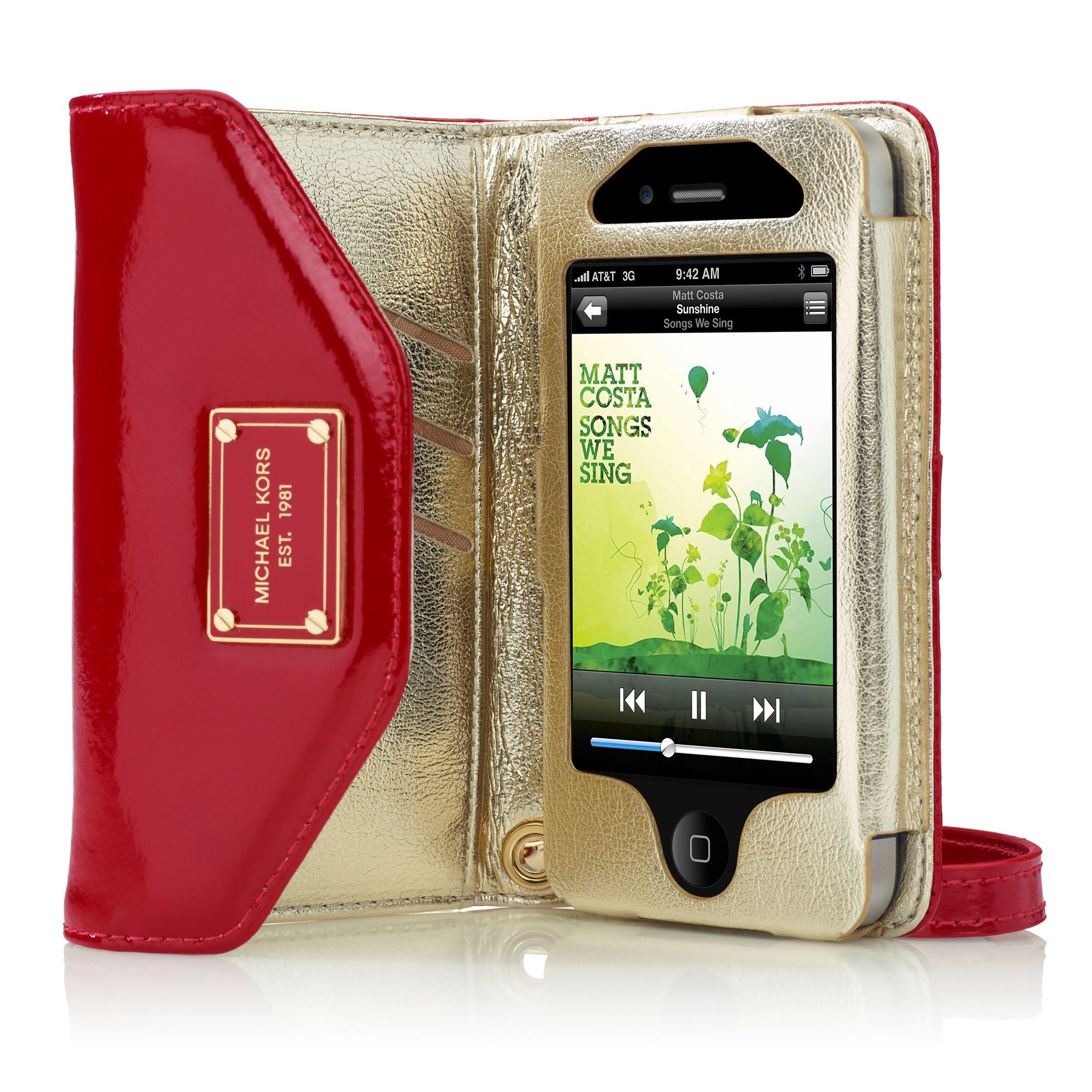 Michael Kors Wallet Clutch for iPhone 4