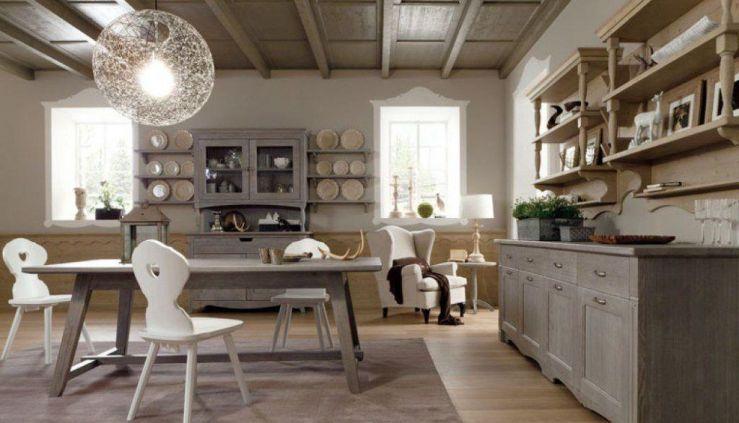 Sala Da Pranzo Rustica : Sala da pranzo rustica tabià scandola mobili vogue experience