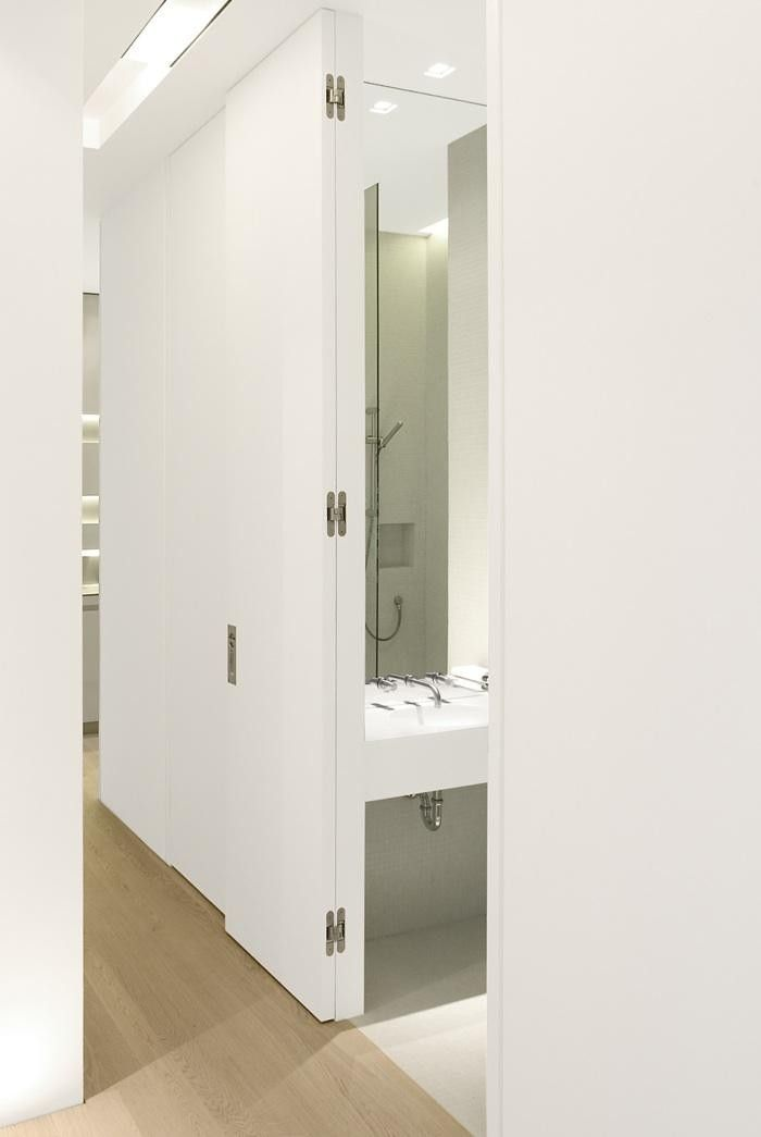 Tectus Concealed Hinge White Door Rector Place Project Pinterest