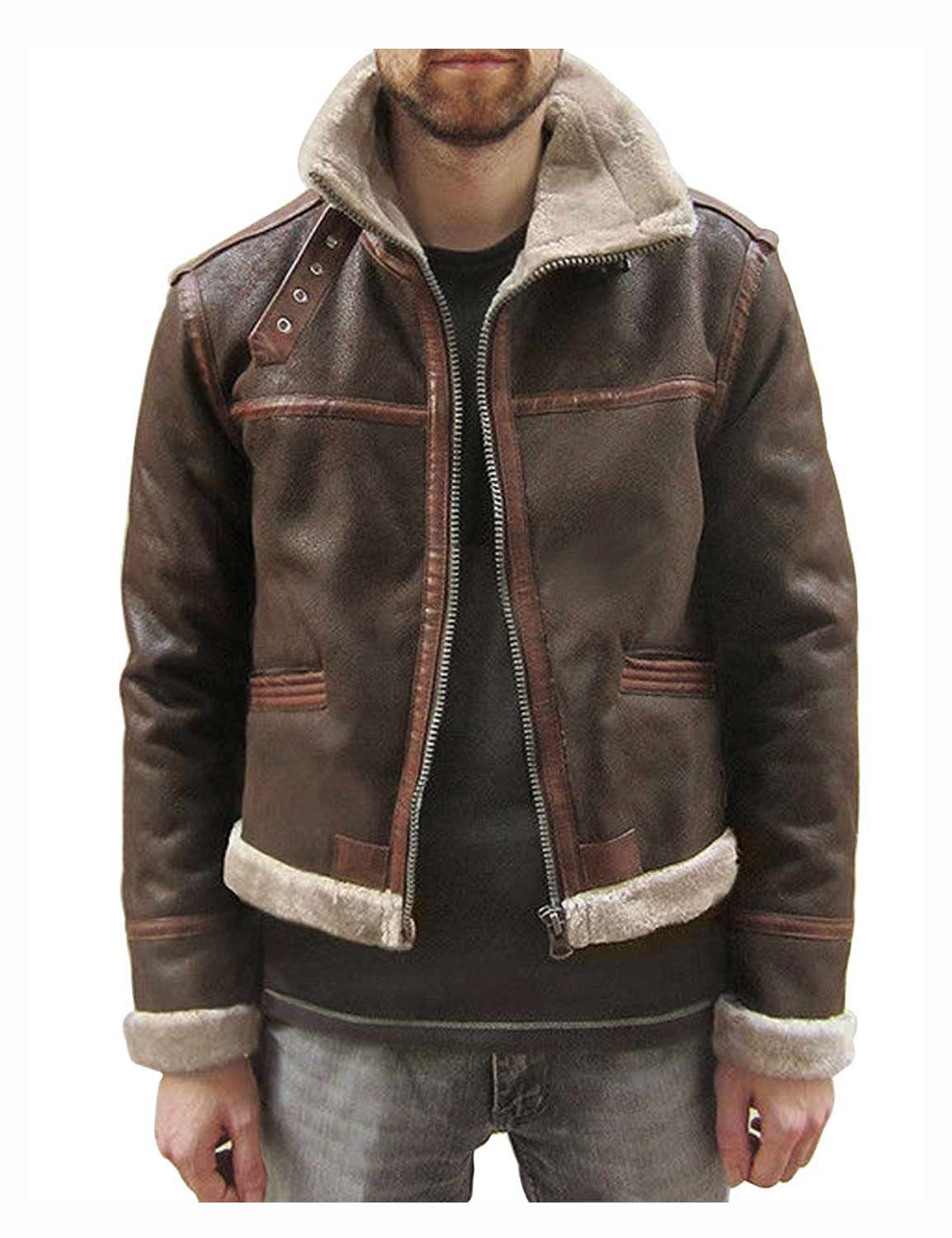 Kennedy JacketVideo Game Resident S Leon Evil Leather yvbf6gIY7