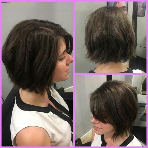 #Featurefriday #Haircut by Hailey #iamsalonanddayspa #aveda #salon #wilmingtonsalon #whatsupwilmington #modernsalon #brunette #ilm #americansalon#shorthair #shortcut #behindthechair #hairbrained #hairdresser