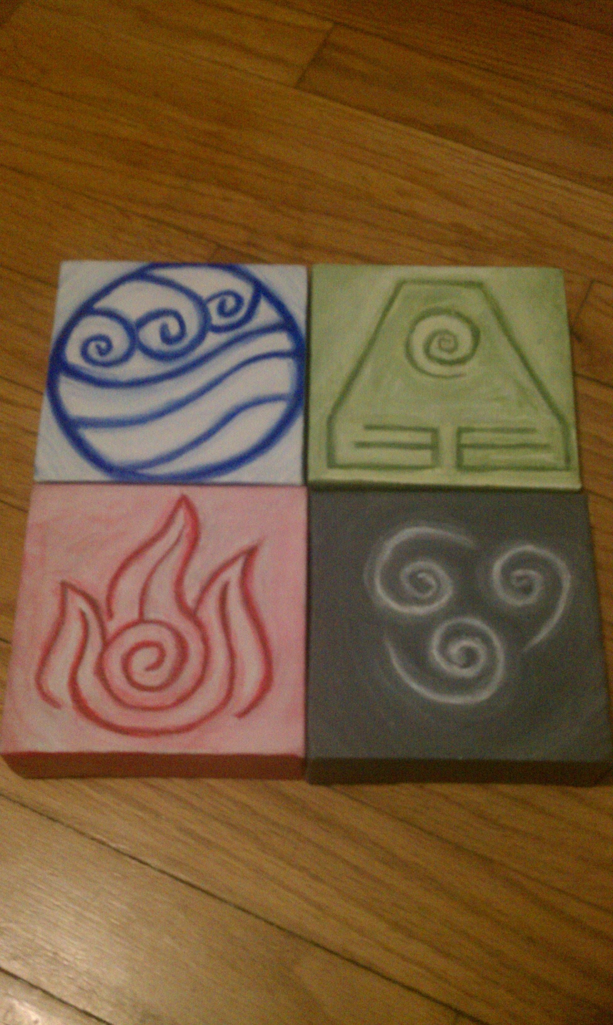 Pin By Jr Hard On G33k Painting Avatar Avatar The Last Airbender