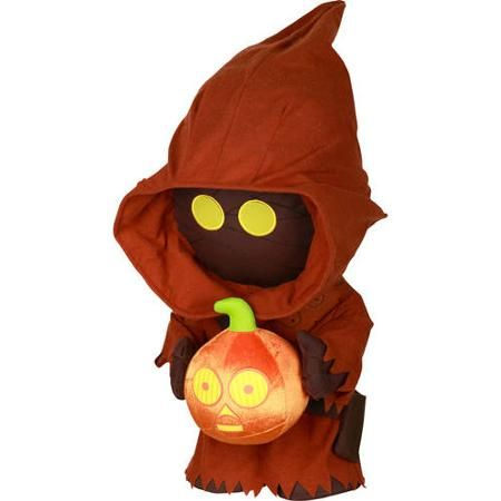 Stars Wars Jawa Holding Pumpkin Halloween Greeter - Walmart - halloween decorations at walmart