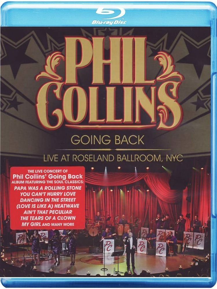 Phil Collins Going Back (Live At The Roseland Ballroom Nyc) - BLU-RAY