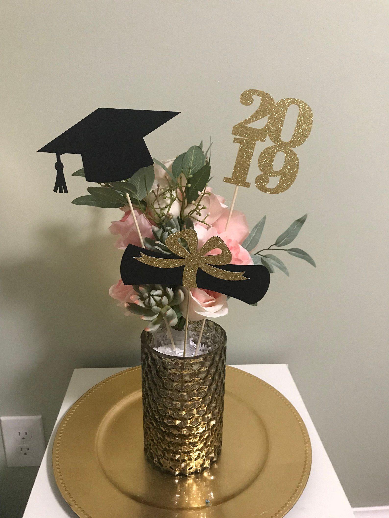 Graduation-center pieces-class 2019-center piece set