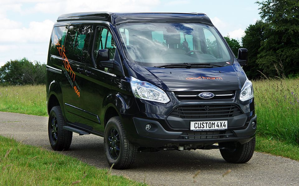 ford tourneo custom transit custom 4x4 camper off road pinterest 4x4. Black Bedroom Furniture Sets. Home Design Ideas