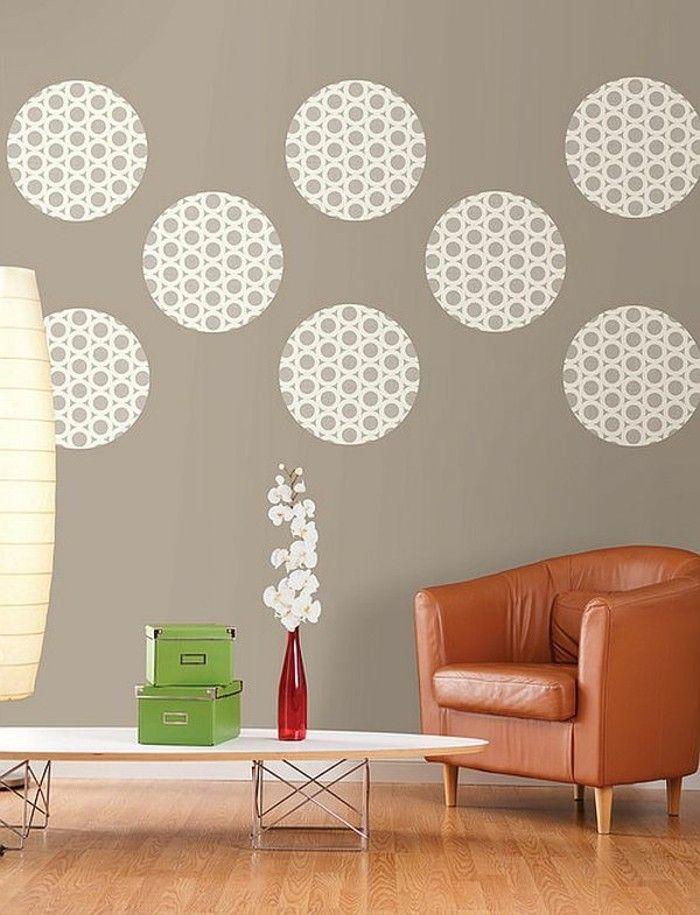 Wandgestaltung selber machen: 140 unikale Ideen! | DIY | Pinterest ...