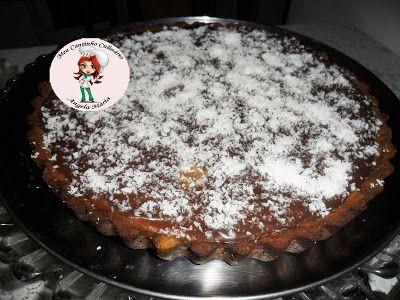 MEU CANTINHO CULINÁRIO: Torta de beijinho de coco e ganache