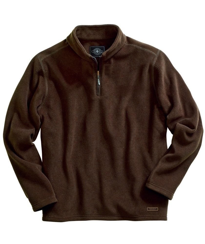 Buy the Charles River Apparel 9098 Bonded Corduroy Fleece Pullover ...