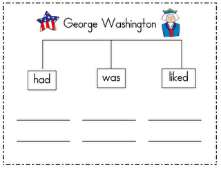 President's Day Graphic Organizers
