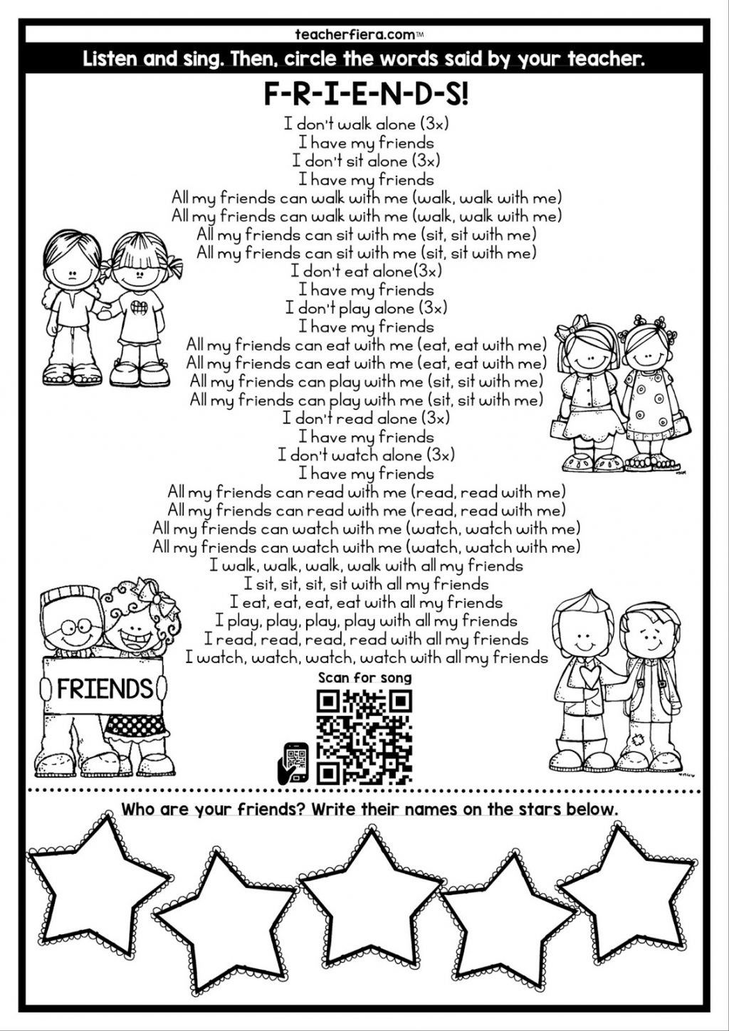 5 Preschool Worksheets Alphabet Literacy Centers Worksheet