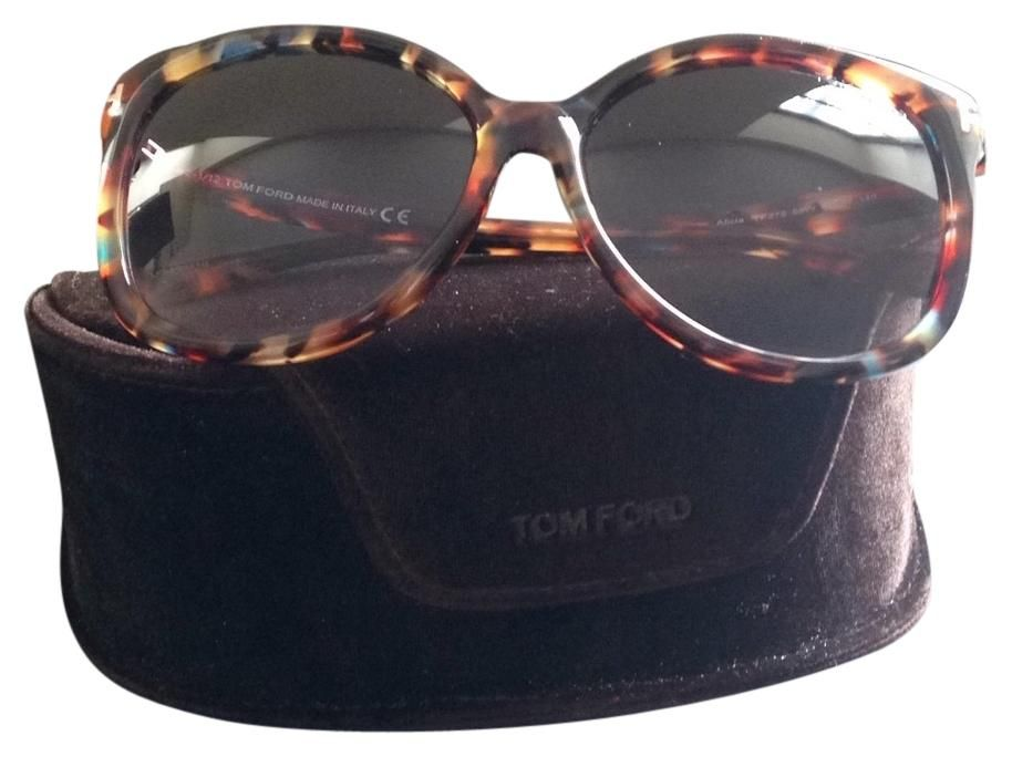 96a3769b16 Free shipping and guaranteed authenticity on Alicia TF275 at Tradesy. Tom  Ford Alicia Round Acetate Sunglasses