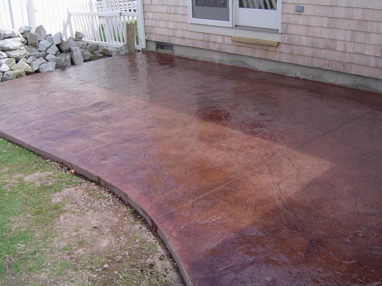 Price For Stamped Concrete Patio Best Artistic Stamped Concrete Of Rhode  Island Atios Stamped Concrete