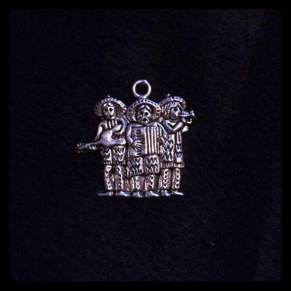 Mariachi band charm. NWT Silver tone charm. NWT. 1 available Accessories