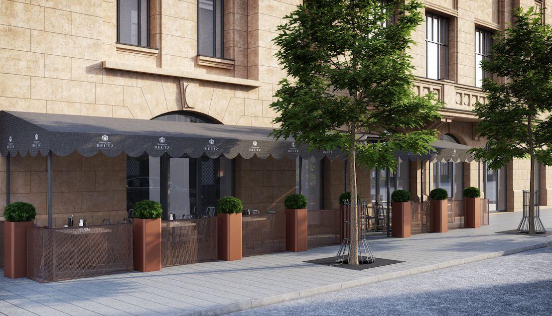 "Outdoor cafes — Yandex.Görsel – Outdoor cafes - Restaurants ""Dine"" project in Vilnius, Gedimino a..."