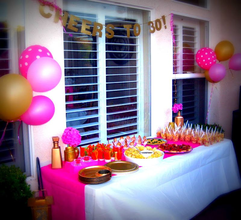 There Are Many 30th Birthday Party Ideas That We Can Recommend