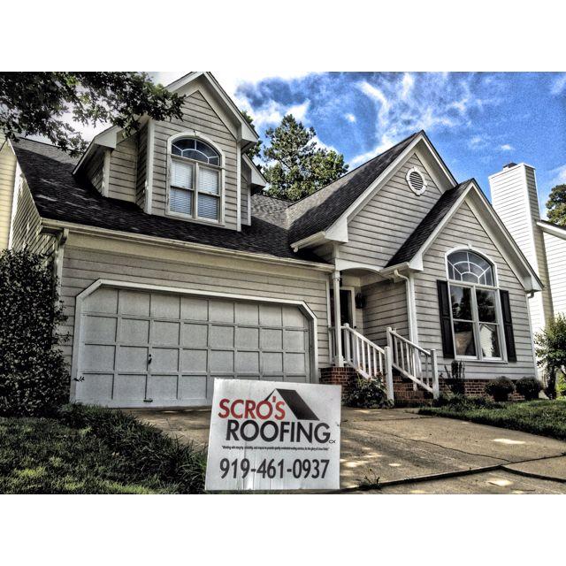 Raleigh Roof Certainteed Landmark Color Moire Black