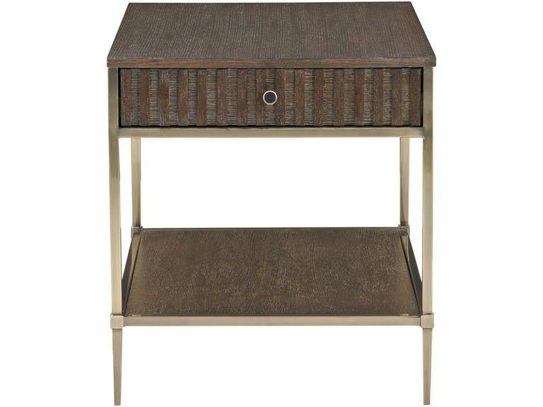 Bernhardt Living Room End Table 377 122 Seldens Designer Home Furnishings Tacoma Wa