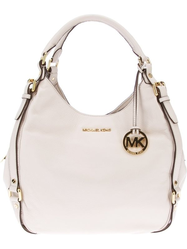 MICHAEL MICHAEL KORS rounded buckle tote