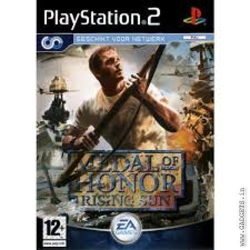 Medal Of Honor Rising Sun Ps2 Medal Of Honor Games Playstation 2