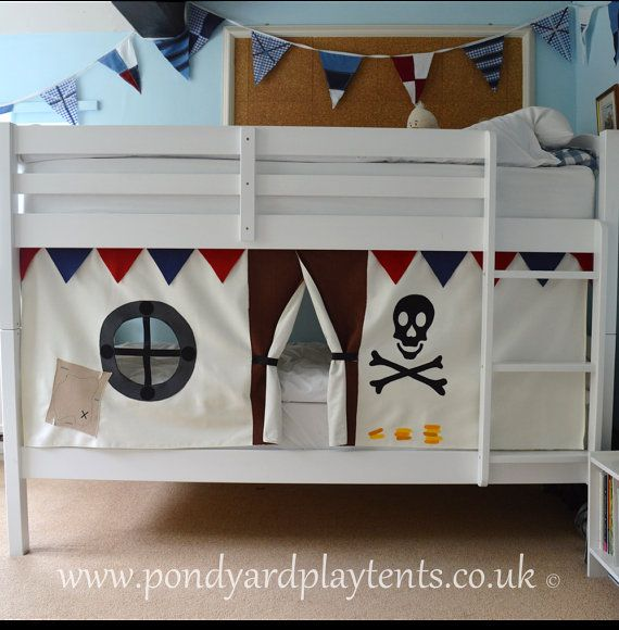 Pirate Ship Bunk Bed Tent Create A Secret Hideaway To Inspire