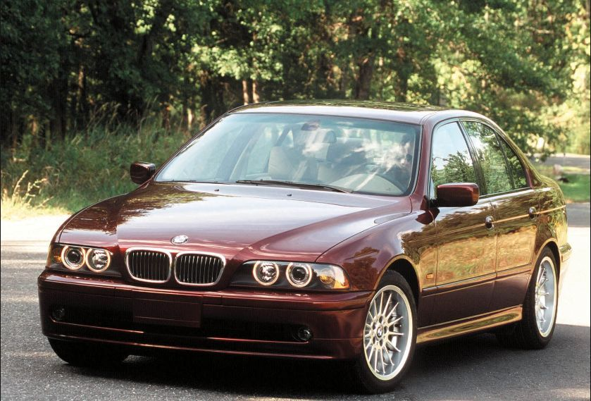 Bmw E39 Dark Red Stock Image With Images Bmw Bmw E39 Bmw 5