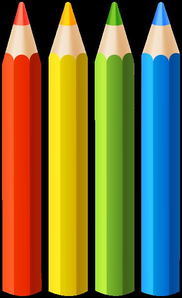 Colored Pencils Clipart Clip Art Pencil Clipart School Wall Art