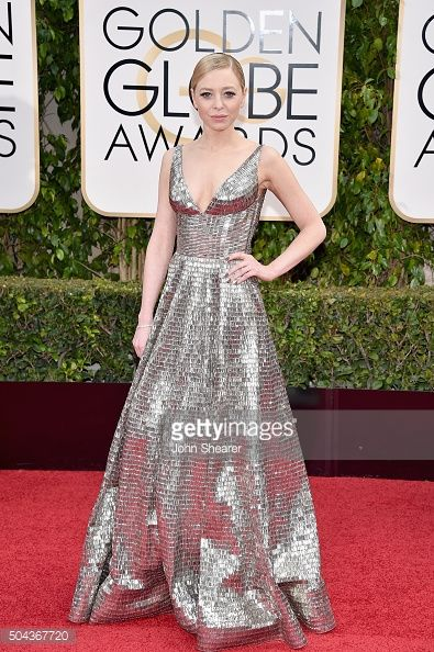 portia doubleday golden globes | 73rd Annual Golden Globe Awards - Arrivals | Getty Images