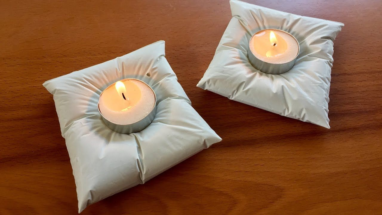 Diy cement cushion holders tutorial home decor how to make