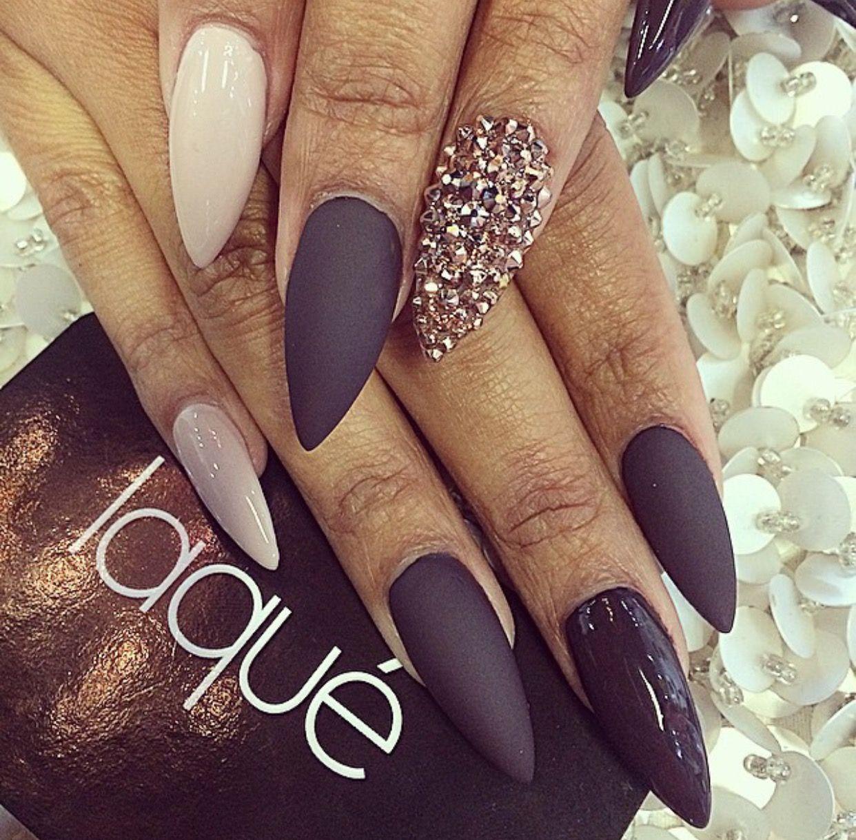 Pin de Chamaine en nails | Pinterest | Diseños de uñas, Uñas de ...