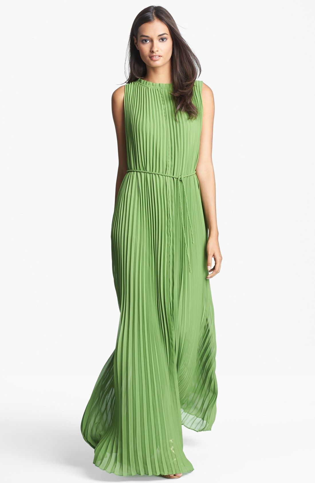 Ted Baker London Pleated Maxi Dress For Women A slightly ruffled ...