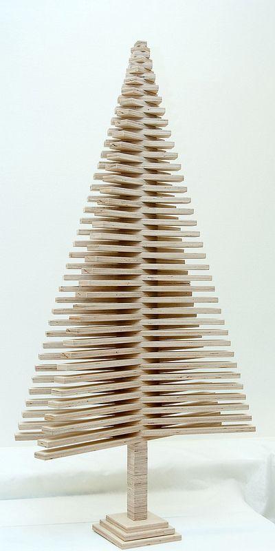 The Infinite Indoor Tree Wooden Christmas Trees Wood Christmas Tree Christmas Diy Wood