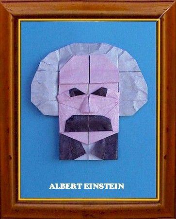 Einstein Origami