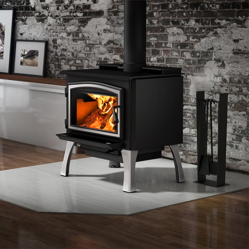 Osburn 2000 Wood Burning Stove With Blower Ob02015 Wood Stove Free Standing Wood Stove Wood Burning Stove