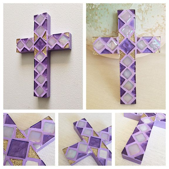 Violet decorative wall cross faith based gift easter gift violet decorative wall cross faith based gift easter gift paschal cross communion negle Image collections