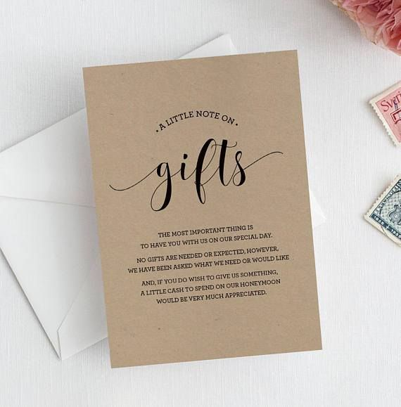 Wedding Gift Card Quotes: Registry Poems Are A Thing In The UK And Australia And