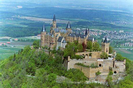 Hohenzolern Castle Deutschland Burgen Reiseziele Burgen Und Schlosser