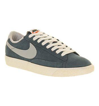 best website 229fc f7970 Nike Blazer Low Vintage Squadron Blue Grey - Unisex Sports