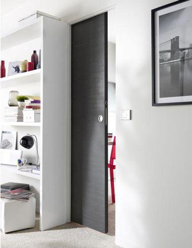 La porte coulissante l\u0027astuce gain de place efficace Kitchens - porte d armoire coulissante