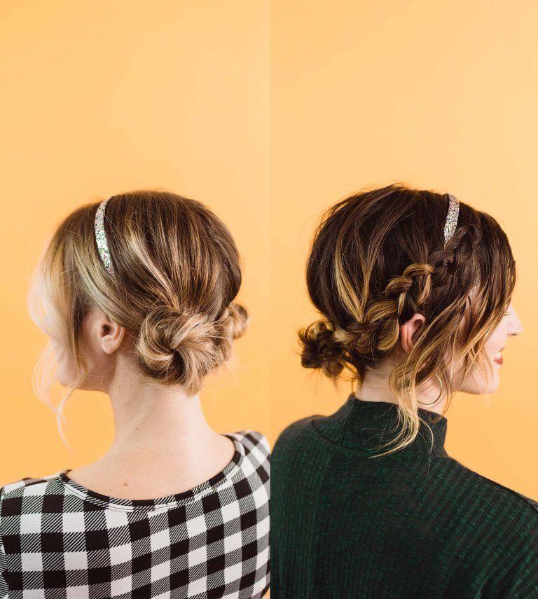 Five Easy Hairstyles With A Headband A Beautiful Mess Medium Length Hair Styles Long Hair Styles Medium Hair Styles