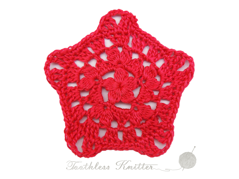 Toothless Knitter: Granny Squares and Motifs: Pattern 7 ...
