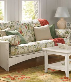 Llbean Painted Cottage Futon Slipcover